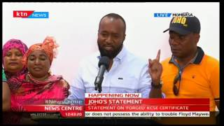 Hassan Joho claims Jubilee now wants to ascertain my birth certificates
