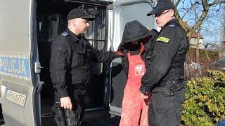 preview picture of video 'Tczew. Czy to nożownik? 22-latek doprowadzony do prokuratury'