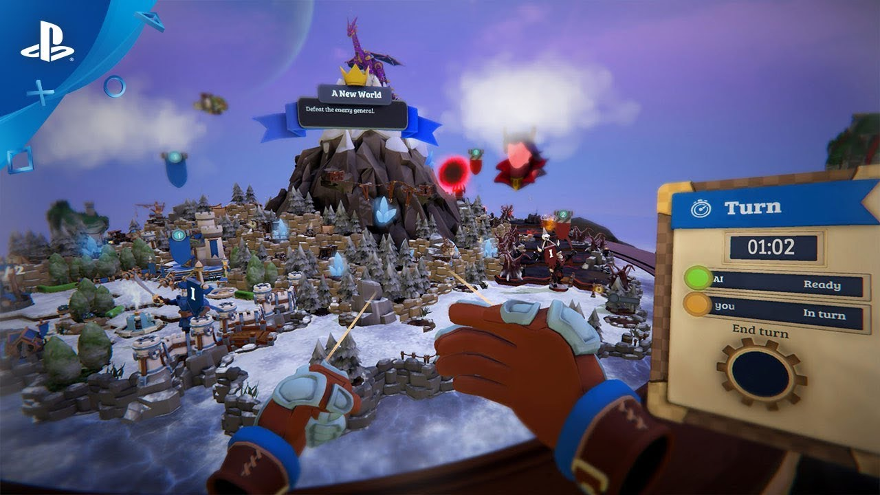 VR Strategy Game Skyworld Hits PS VR Early 2019