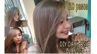 120 PESOS DIY DARK ASH BLONDE || BREMOD HAIR COLOR😯(No Bleaching!!)