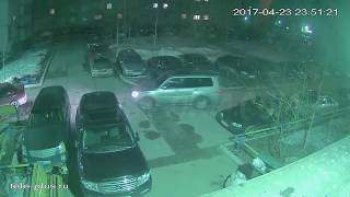 Кража АКБ попала на видео в Сургуте