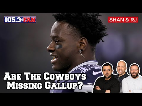 Is The Cowboys Offense Better With Or Without Michael Gallup? | Shan & RJ