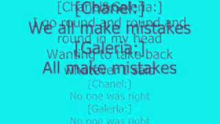 Cheetah Girls - Its Over Lyrics