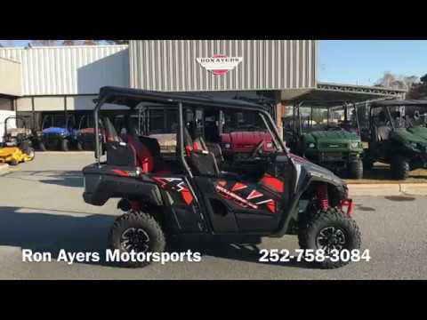 2018 Yamaha Wolverine X4 SE in Greenville, North Carolina - Video 1