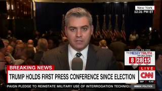 Jim Acosta Claims Sean Spicer Threatened To Throw Him Out Of Trump