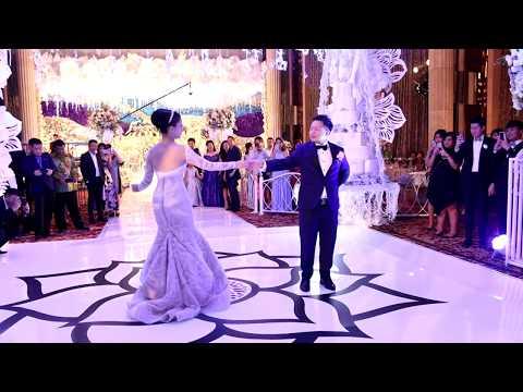 Tightrope Wedding Dance   Nico & Nana Wedding   IG: @dancefirstindonesia