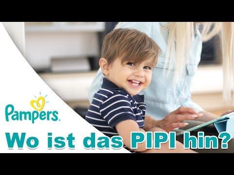 Wo ist das Pipi hin? Die neue Pampers Baby Dry  | Dauerwerbung | PatrycjaPageLife