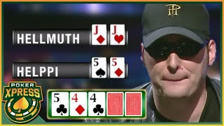 When you flop a MONSTER hand against Phil Hellmuth!