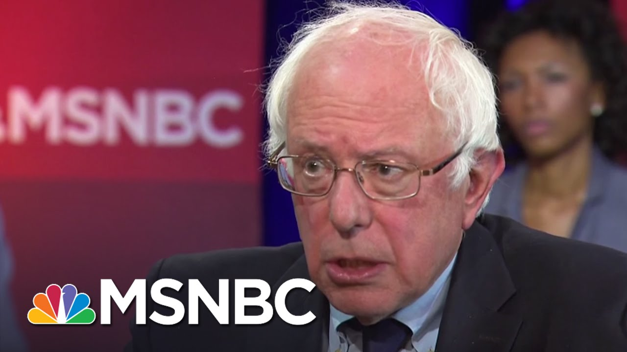 Bernie Sanders: Criminal Justice Reform Is A Must | All In | MSNBC thumbnail