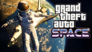 GTA V SPACE - INCRÍVEL!!! Virei ASTRONAUTA e fui para o ESPAÇO (GTA 5 Mods)