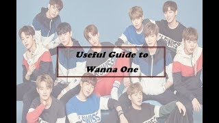 Useful Guide To Wanna One