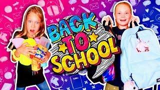 НОВЫЕ РЮКЗАКИ 🎒 СОБИРАЕМ Рюкзаки в ШКОЛУ / BACK TO SCHOOL