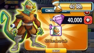 Monster Legends To Rule The World Island Review Combat Zameleon Level 130