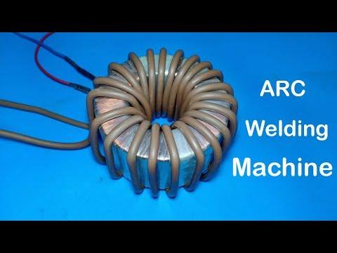 DIY Powerful ARC welding machine from transformer