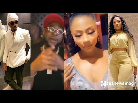 BBNaija's Mercy and Ike step out in Dubai, meets Davido and danced with Bambam and Teddya
