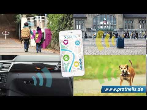 Prothelis Sistema di localizzazione Greta