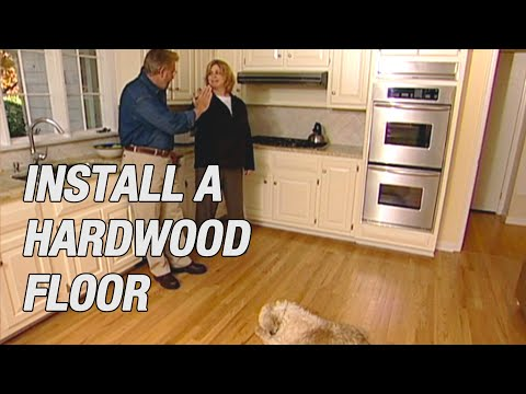 Install a Pre-Finished Hardwood Floor
