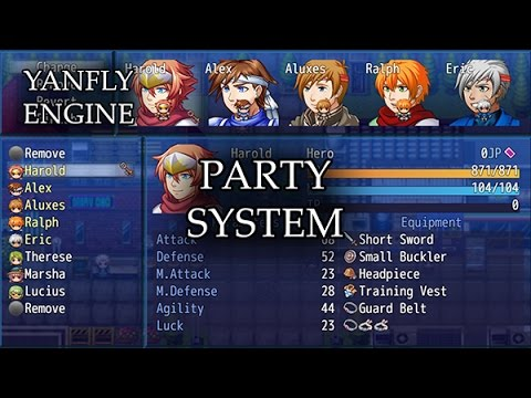 RPG Maker MV Battle System |YEP ATB Battle System| - смотреть онлайн