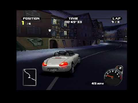 Need for Speed Porsche Unleashed (PS1 Gameplay) - смотреть