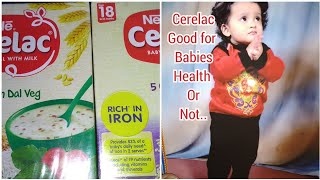 Nestle Cerelac good for baby !! Right age start baby food Cerelac .. Quantity,time ,age ,weight gain