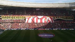Atlético De Madrid - Real Madrid .Así Sonó El Himno Del Atlético De Madrid En El Wanda Metropolitano