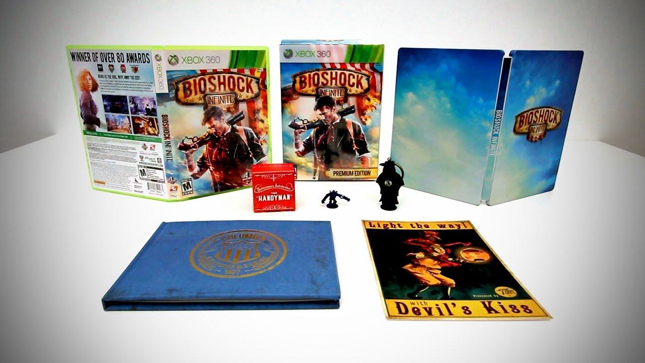Bioshock Infinite Premium Edition Unboxing & Overview thumbnail