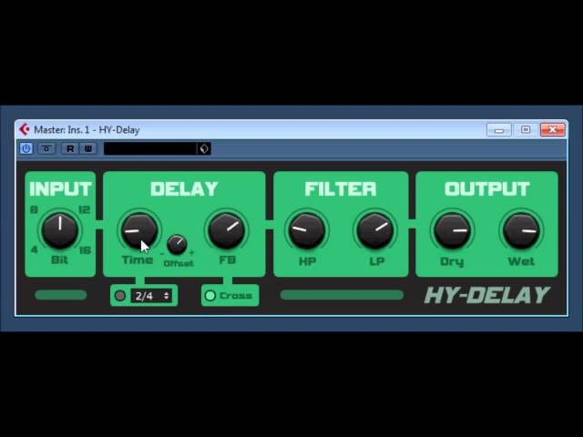 HY-DELAY by HY-Plugins