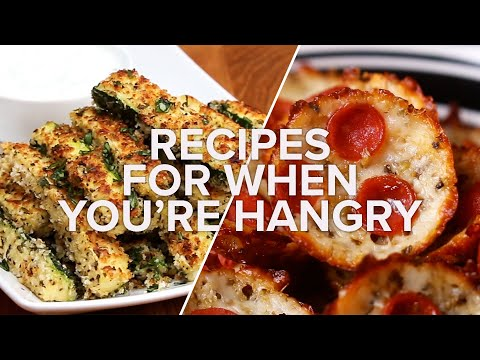 Recipes For When You're Hangry • Tasty Recipes