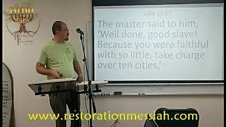 Elements of the Messianic Kingdom - Deuteronomy 16-21