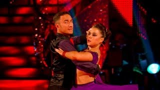 Dani Harmer & Vincent Tango to 'Rumour Has It' - Strictly Come Dancing 2012 Final - BBC One