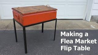 Flea Market Flip Table