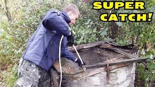 MAGNET FISHING! SURPRISING FINDING FROM WELL DEPTH! CrazySeeker!