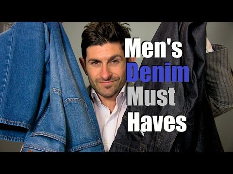 2 Denim Must Haves | Men's Wardrobe Essentials | 2 Pairs Of Perfect Jeans