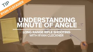 Understanding Minute of Angle (MOA) - Long Range Shooting Technique