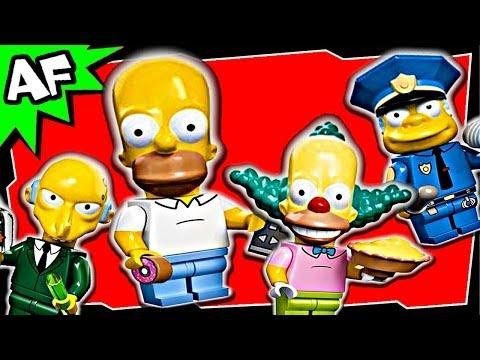 Vidéo LEGO Minifigures 71005 : Les Simpsons - Série 1