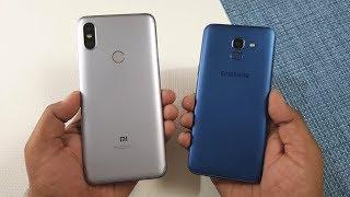 Samsung Galaxy ON6 vs Redmi Y2 Speed Test !