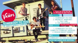 The Vamps, 'Somebody To You' - UK Single Bundle Sampler
