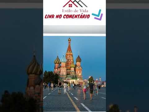 Turismo em Moscou - Estilo de Vida - Lifestyle - EV065a - #shorts