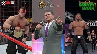 WWE 2K16 Recreation: Edge cashes in Money in the Bank on John Cena New Year's Revolution 2006!