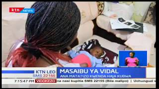 Masaibu ya Vidal:Mtoto amekuwa akiugua kwa muda,ana matatizo kwenda haja kubwa