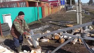 Самодельные устройства для рыбалки колки дров