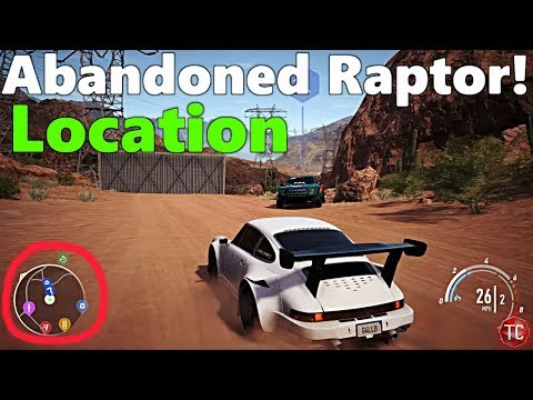Need For Speed Payback: NEW ABANDONED CAR LOCATION! Faith Jones' Ford Raptor