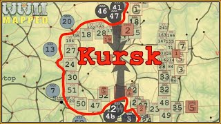 Eastern Front of WWII animated: 1943/44