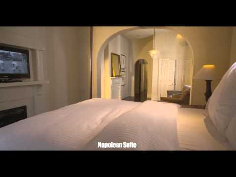 Melrose Mansion Napolean Suite