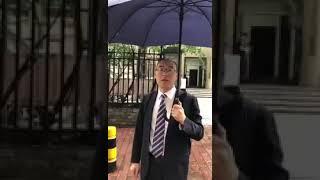 张磊律师和孙世华律师前往广州市监察委员会投诉举报广州警员涉嫌侮辱非法拘禁打击报复证人     孙世华律师事件