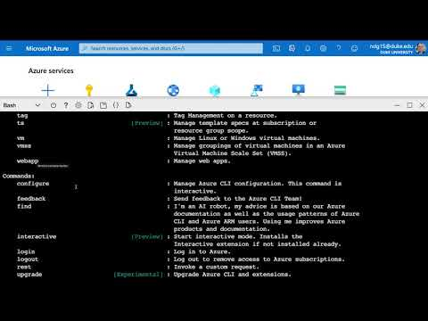 Introduction to Azure Cloud Shell