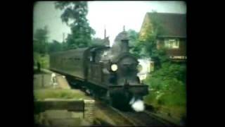 preview picture of video 'Tunbridge Wells to East Grinstead and Three Bridges Railway: Then and Now'
