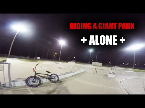 BMX Paducah Skatepark Night Session