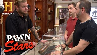 Pawn Stars: Ty Cobb, Joe Sewell Game Used Signed Bat (Season 12) | History