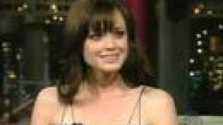 Alexis Bledel Al David Letterman Show (19 Apr 2006)